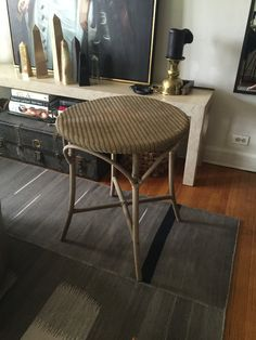 $100.00 Antique Wood and Rattan