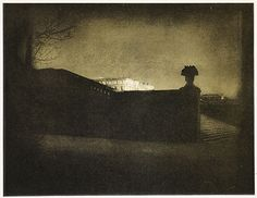 Edward Steichen Nocturne – Orangery Staircase, Versailles, Purchased 1976 National Gallery of Canada, Ottawa Edward Steichen, Alfred Stieglitz, Nocturne, Landscape Photography, Art Photography, Inspiring Photography, Chateau Versailles, Photo Vintage, Great Photographers