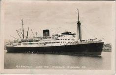 KANIMBLA 1936-1974. 10,985 gross tons - Flotilla Australia