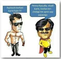 True Rajinikanth style advice for Salman Khan