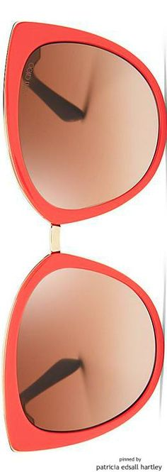 Jimmy Choo Mirrored Dana Cat Eye Sunglasses | House of Beccaria#