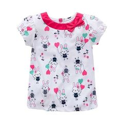 Baby t-shirt clothing for girls kids tees children girls shirts short sleeve t shirt cotton top quality