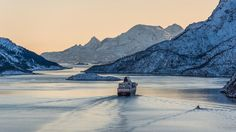 Unterwegs auf dem Postschiff: Mit den Hurtigruten durchs Eis