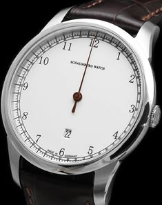 Schaumburg Watch Gnomonik Brown