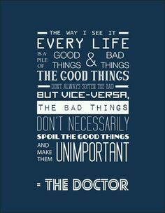 Dr who quote.