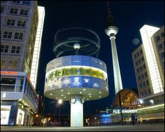 World Time Clock - Weltzeituhr - Alexanderplatz - Fernsehturm - Berlin - [By Stathis Chionidis]