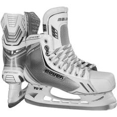 Shop Bauer Supreme LE Ice Skate - Junior from Pure Hockey. We offer the largest selection of Ice Hockey Skates at the lowest prices, guaranteed. Hockey Gear, Ice Hockey, Total Hockey, Hockey Stuff, Toledo Walleye, Andrew Wood, Winter Gear, Hockey Players, Ice Skating