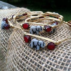The Bama Handmade wire wrapped bangle with by BlueEyedBangles, $18.00