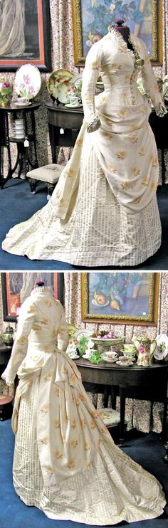 HISTORICAL WHITE & PRINTED DRESSES