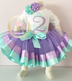 A personal favorite from my Etsy shop https://www.etsy.com/ca/listing/288898369/mermaid-1st-birthday-outfit-aqua-and