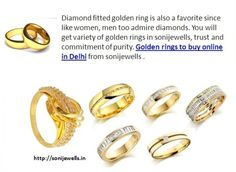 You will get variety of golden rings in sonijewells, trust and commitment of purity. Golden rings to buy online in Delhi from sonijewells . http://sonijewells.in/product.php?id=15