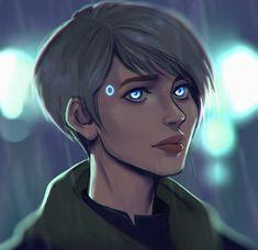 "utadasam72: "" Kara Detroit Become Human by: NoctisCapricorn """