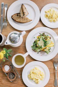 Delicious breakfast at London Plane, Seattle, WA
