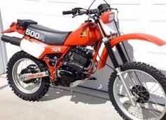 Xr Old School Motorcycles, Honda Motorcycles, Youth Dirt Bikes, Honda Dirt Bike, Enduro Motorcycle, Offroader, Vintage Motocross, Motosport, Dirtbikes