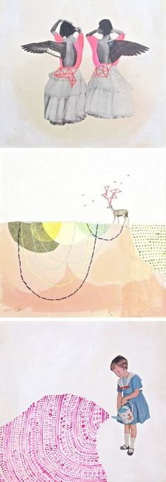 My favorite works by Ashley Barlow, on the blog today: http://www.artisticmoods.com/ashley-barlow/
