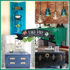 The Cottage Market: Take All About Upcycling DIY's Via The Cottage Market - - we love the old funk on legs ! Handmade Furniture, Repurposed Furniture, Diy Furniture, Automotive Furniture, Automotive Decor, Furniture Design, Home Crafts, Diy Home Decor, Thrift Store Crafts