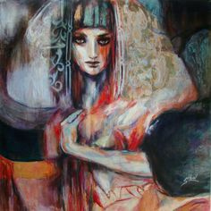 "Saatchi Online Artist Suhair Sibai; Mixed Media, ""Bride of Liberty"" #art"