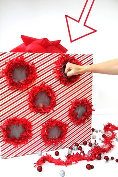DIY Punch Box Advent Calendar. So awesome for Christmas! Kids would love that!
