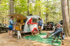 Lake Placid / Whiteface Mtn. KOA Holiday offers excellent camping amenities to its guests. Visit this webpage to find out all the great amenities we have to offer! Best Rv Parks, Tin Can Tourist, Saranac Lake, Rv Sites, Lake Champlain, Vintage Trailers, Camping, Van, Club