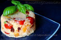 COUS COUS VEGETARIANO CON RICOTTA SALATA  http://blog.giallozafferano.it/saporidicasamia/cous-cous-vegetariano-con-ricotta-salata/