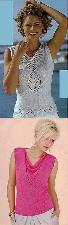 Летние модели спицами / Вязание для женщин спицами. Схемы / PassionForum - мастер-классы по рукоделию
