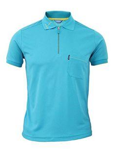 BCPOLO Men's functional Golfwear Polo zipper Sports T-shirt Daily Polo shirt-aqua XS BCPOLO http://www.amazon.com/dp/B00RWK649M/ref=cm_sw_r_pi_dp_8nx7ub155ZCY7