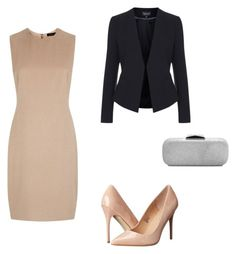 evening by nadia-skibina on Polyvore featuring мода, Jaeger, Topshop and Madden Girl