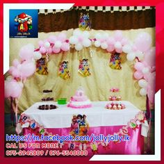 WE DO BIRTHDAY PARTY DECORATION FOR KIDS PARTIES . BALLOON ARCHES  HAPPY BIRTHDAY BUNTING MAGIC BALLOONS FACE PAINTING Birthday party decors https://m.facebook.com/Kidsbirthday Cal us for more or visit us on Birthday party decors on ( fb & instagram ) https://m.facebook.com/Kidsbirthday 0765540000 / 075-2942809 WE DO BIRTHDAY PARTY DECORATION FOR KIDS PARTIES . BALLOON ARCHES  HAPPY BIRTHDAY BUNTING MAGIC BALLOONS Cal us for more or visit us on  https://m.facebook.com/deliverysoon