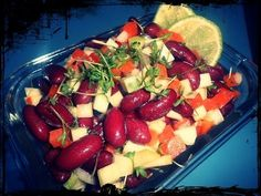 [Quick & Easy] karibischer Bohnensalat︱ schnell︱ günstig︱Protein︱sommerlich - YouTube