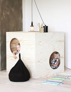 a cool playhouse