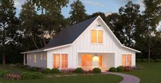 2720 Sq. Ft. Modern Barn Home with Must See Floor Plan