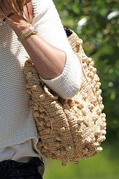 Olivia Palermo Fabric Bag - Olivia Palermo Shoulder Bags - StyleBistro gerard darel