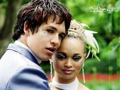 The Tribe ... TV Show ... Ram and Ebony ... Wedding Picture