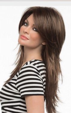 Amazing 25 Easy Long Shag Haircuts for Effortless Style Looks from http://www.fashionetter.com/2017/04/09/25-easy-long-shag-haircuts-effortless-style-looks/