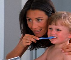 A step and stages guide to getting your child to brush their own teeth.