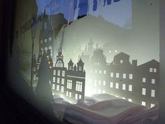 Interactive christmas window display by Wellen Prague 04
