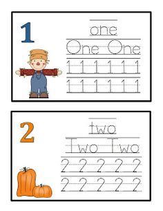 Preschool Printables: Fall