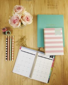 How cute is the pretty new planner that will help you organize your life?