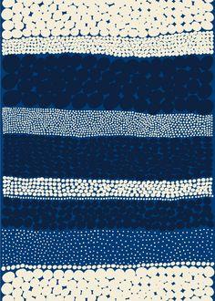 Jurmo HW cotton fabric by Marimekko. I did not know that Marimekko was still around. Love this fabric. Geometric Patterns, Color Patterns, Print Patterns, Graphic Patterns, Motifs Textiles, Textile Prints, Textile Patterns, Lino Prints, Block Prints