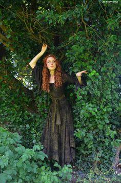 Forest maiden, fantasy medieval