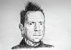 Pistol Drawing, Biro Drawing, Band Group, Post Punk, Portrait Art, Punk Rock, Hard Rock, Rock Bands, Rock N Roll