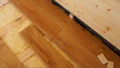 VIDEO: Šroubování masivní podlahy...