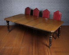 19th.c. Extending Oak Dining Table C.1890. - Antiques Atlas