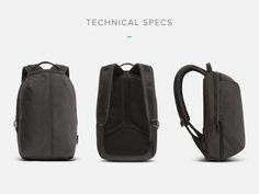 Aer Fit Pack: The Gym/Work Bag Designed for the City by Aer — Kickstarter