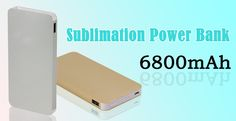 Personalised Power Bank, 6600mAh power bank for you! Gold and Silver to choose from! http://www.meikeda.com/dye-sublimation-printing-2/digital-peripheral-products/others-peripheral-products/item/sublimation-power-bank.html?category_id=149