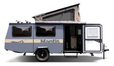 Taxa Outdoors Mantis exterior Lightweight Camping Trailers, Small Camping Trailer, Small Trailer, Small Campers, Airstream Trailers For Sale, R Pod, Off Road Tires, All Terrain Tyres, Bike Rack