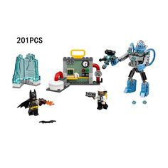 (26.29$)  Know more  - New DC comics super heroes Batman movie Mr. Freeze Ice attack building block mech bricks compatible legoe.net.70901 toys