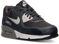 Nike Men's Air Max 90 Essential Running Sneakers from Finish Line