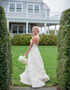 Nantucket Wedding - Nantucket Yacht Club Wedding, this dress is perfect