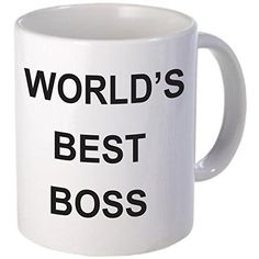 Rikki Knight RK-WBB-NBful World's Best Boss Coffee Mug, White - This 11oz mug is professionally printed and can be used at work or home, your recipient will love to show off this mug to others.